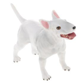 Realista Bull Terrier Um Cão De Estimação, Animal Estatueta
