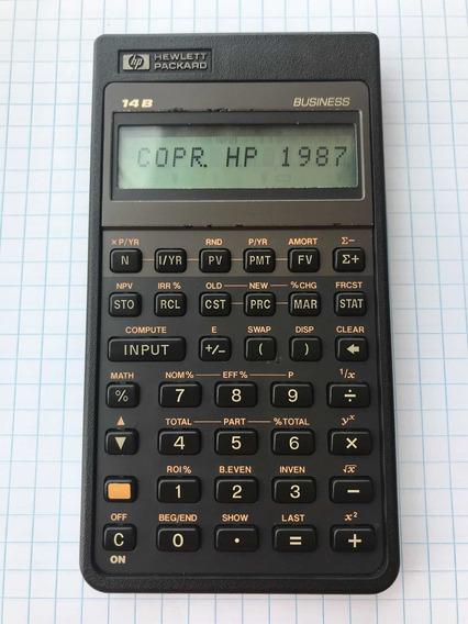 Calculadora Financeira Hp 14b