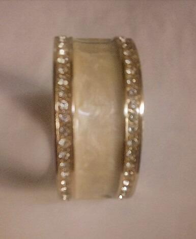 Bracelete Feminino Dourado (semi Jóia)