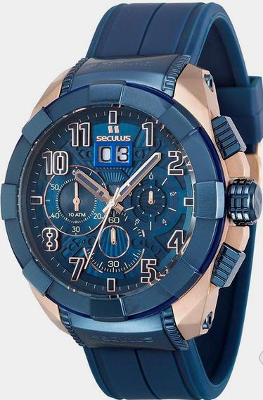 Relógio Masculino Seculus Upper 13009gpsvru5