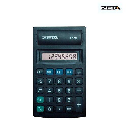 Calculadora De Bolso Zt-715 Zeta 8 Dígitos