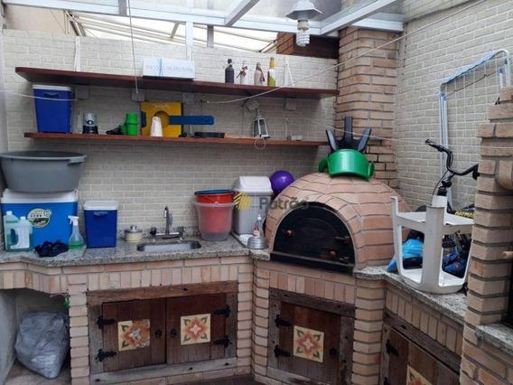 Terra Bonita, Com 3 Dormitórios À Venda, 108 M² Por R$ 750.000 - Demarchi - São Bernardo Do Campo/sp - So0751