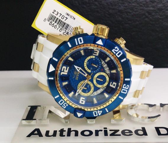 Relógio Invicta Pro Diver 23707 Banhado A Ouro 18k Promoção