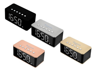 Parlante Radio Reloj Despertador Brightside -full Calidad