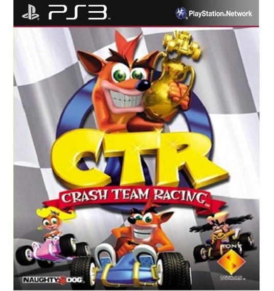 Ctr Crash Team Racing Classico Do Ps1 - Psn Ps3