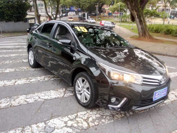 Toyota Corolla Gli 1.8 2015 Sem Entrada R$ 56900