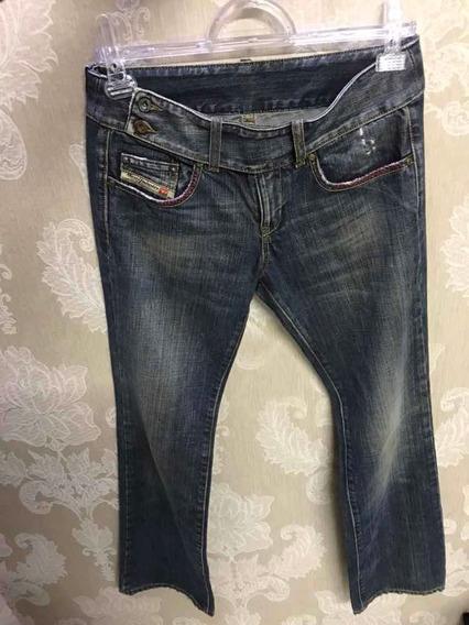 Calça Jeans Diesel, Tamanho:36, Slim, Original, Seminova