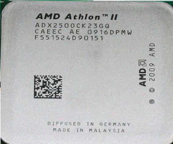 Amd Athlon Ii X2 250 - 3,00ghz - Am3 - Perfeito
