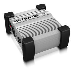 Direct Box Ativo Behringer Ultra Di100 Nfe 2 Anos Garantia