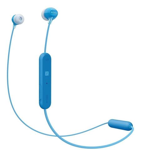 Imagen 1 de 2 de Audífonos in-ear inalámbricos Sony WI-C300 azul