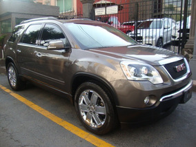 Gmc Acadia 2012 Factura Original Qc Piel Impecable!