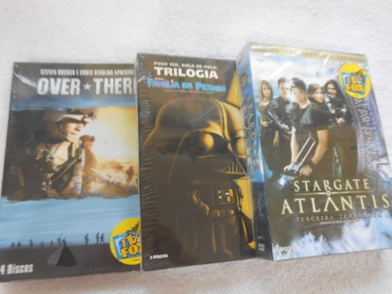 Família Da Pesada Over There Stargate 3 Boxes Dvds Orig Novo