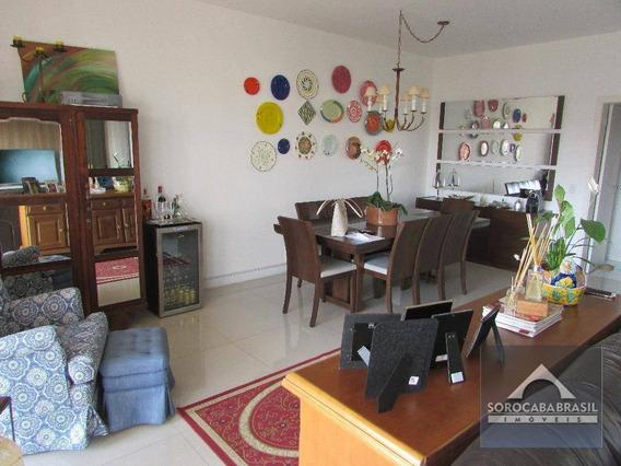 Apartamento Com 3 Suítes À Venda, 196 M² Por R$ 1.520.000 - Condomínio Único Campolim - Sorocaba/sp, Próximo Ao Shopping Iguatemi. - Ap0235