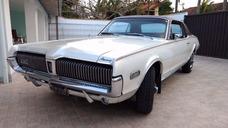 Mercury Cougar 68 Placa Preta