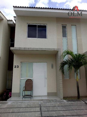 Casa Residencial À Venda, Parque Santa Maria, Fortaleza. - Ca0062
