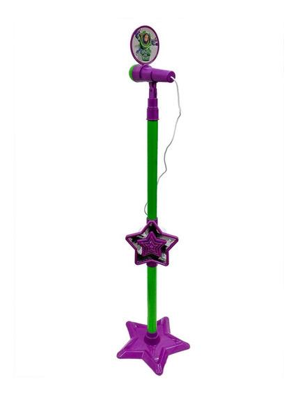 Microfone Karaokê Infantil Toy Story Toyng