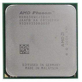 Processador Amd Phenom X3 8650, Hd8650wcj3bgh