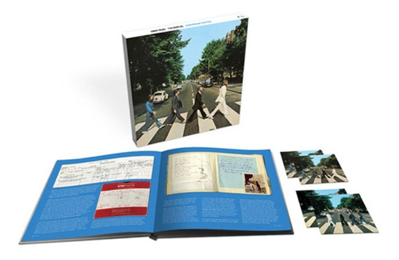 Beatles Abbey Road 50 Th Aniv 3cds 1 Blu Ray Libro