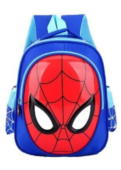 Mochila Spiderman Infantil Impermeavel 3d Bolsa Homem Aranha