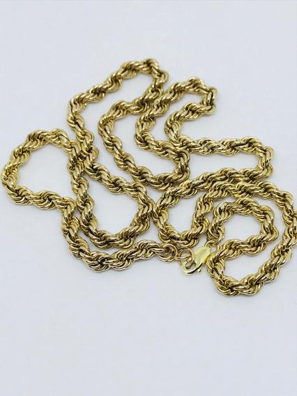 Glitter Joias - Corrente Cordão Em Ouro 18k Com 16 Gramas!