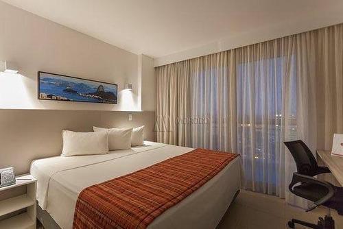 Flat Com 1 Dormitório Para Alugar, 28 M² Por R$ 1.500,00/mês - Imbetiba - Macaé/rj - Fl0008