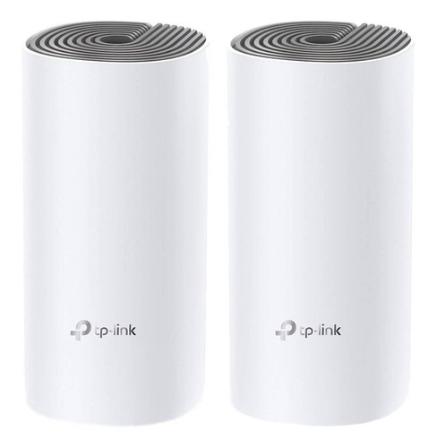 Access point, Router, Sistema Wi-Fi mesh TP-Link Deco E4  blanco 100V/240V 2 unidades