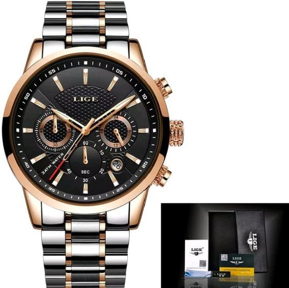 Relógio Original Lige - C/caixa Modelo: Quartzo