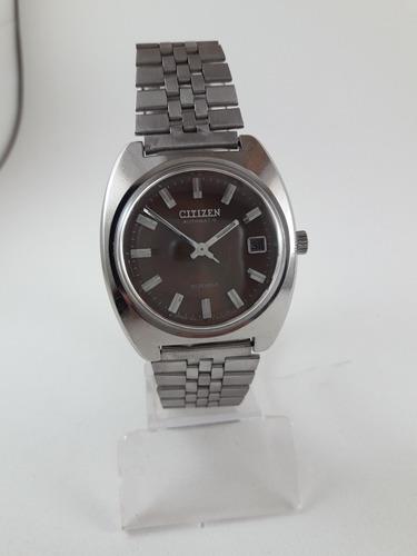 Relógio Citizen Automático Vintage Japan Coleção Aço