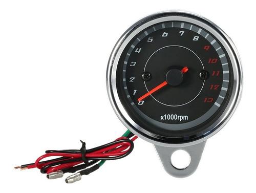 Imagen 1 de 8 de 12v Universal Motos Tacómetro Medidor Led Backlight 13k Rpm