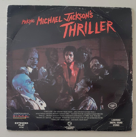 Laserdisc Making Michael Jackson Thriller