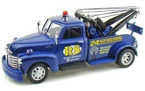 Camioneta Chevrolet Tow Truck 1953 Welly Metal Casa Valente