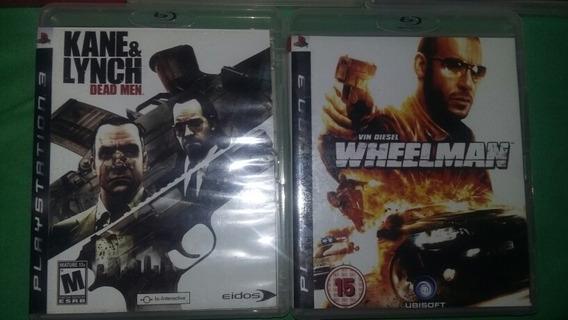 Combo Ps3 Kane And Lynch E Wheelman