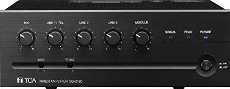 Amplificador Toa Bg-2060 60 Watt Mixer Amplificador ®