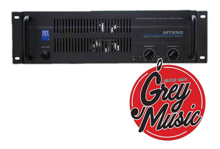 Potencia Zkx Mt 250 250 W.rms Garantía - Grey Music- Envios