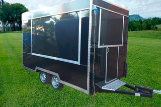 Trailer Food Truck Led Revest Int Acm Ext Inox Documentado