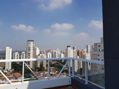 Cobertura Penthouse, 140m² Com 3 Dorms E 3 Vagas, Na Ruada Pascal, Campo Belo! - Ph0007
