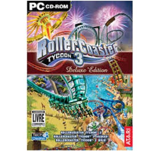 Pc Rollercoaster Tycoon 3 Deluxe Edition - Original -lacrado