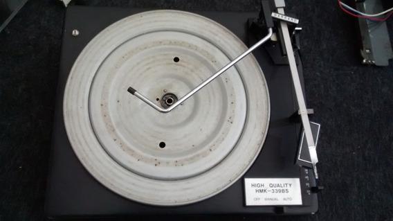 Toca Discos Garrad Original Som Hmk 339bs Sucata