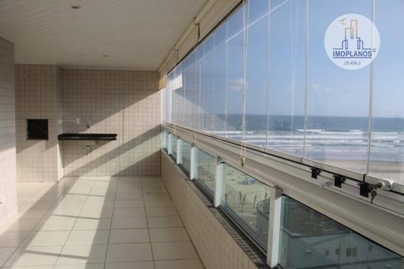 Apartamento Alto Padrão, Vista Para O Mar À Venda Na Vila Guilhermina Em Praia Grande. - Ap8578