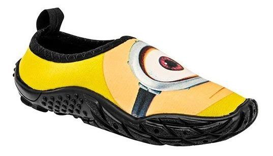 Zapato Acuatico Minions Niño Sandak Capital Amarill 15-21 T5