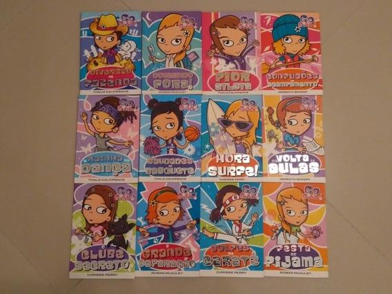 Coleção Livro Go Girl - 12 Edições