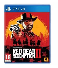 Pronta Entrega Red Dead Redemption 2 Ps4 Midia Fisica Novo