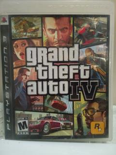 Grand Theft Auto Iv Para Playstation 3 Usado Funcionando 10