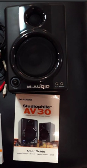 M-audio Monitores Av30