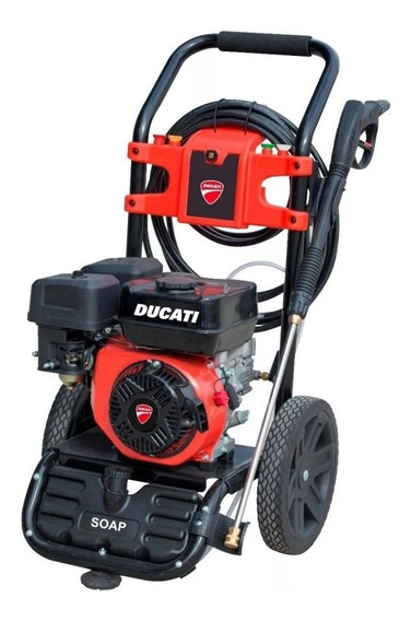 Hidrolavadora A Combustión Profesional 4t Ducati Dpw3100g