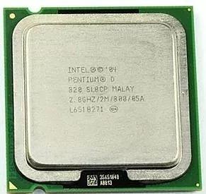 Processador Intel Pentium D 820 2.8ghz 2m Cache 800mhz 775