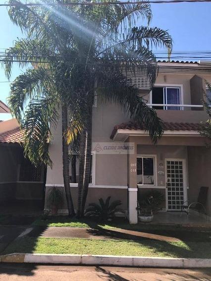 Sobrado Com 3 Dormitórios À Venda, 117 M² Por R$ 360.000,00 - Despraiado - Cuiabá/mt - So0189