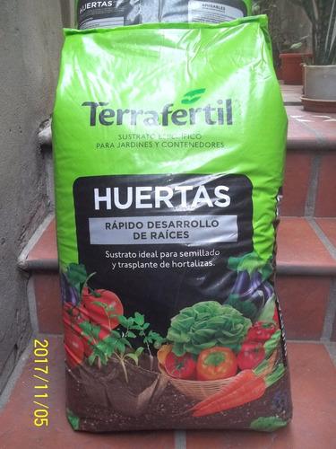 Huerta Sustrato Especial Terraferti   50 Lts - Jardin Agus -