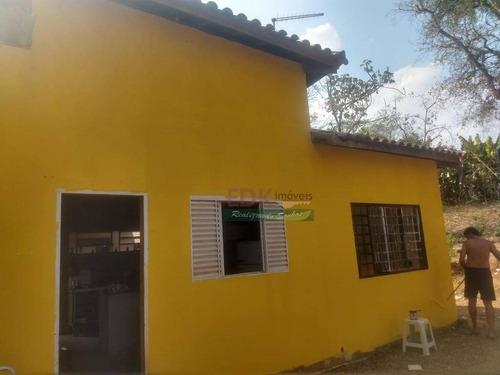 Imagem 1 de 6 de Chácara Com 2 Dormitórios À Venda, 2200 M² Por R$ 260.000,00 - Pinheirinho - Taubaté/sp - Ch0423
