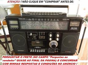 Aparelho Rádio Receptor Cassete Grundig Rr1140 Professional